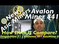 AvalonMiner 841 13Ths 1290W Bitcoin Miner DragonMint T1 Miner 16THS 1480W Antminer S9- 8 nano Review