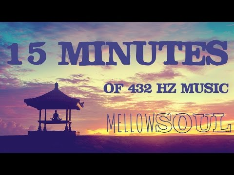冥想音樂 15 MINUTES 432 hz DNA Healing/Chakra Cleansing Meditation/Relaxation Music