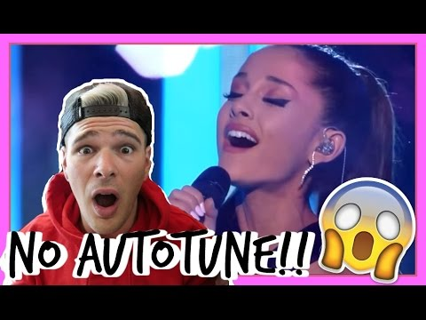 Download Ariana Grande's REAL VOICE (WITHOUT AUTO-TUNE) REACTION!