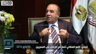 مصر العربية | الجندي: النمو السكاني أخطر من الإرهاب على المصريين