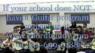 Chordbuddy teaches Guitar to students at Enterprise High School in Alabama Mp3