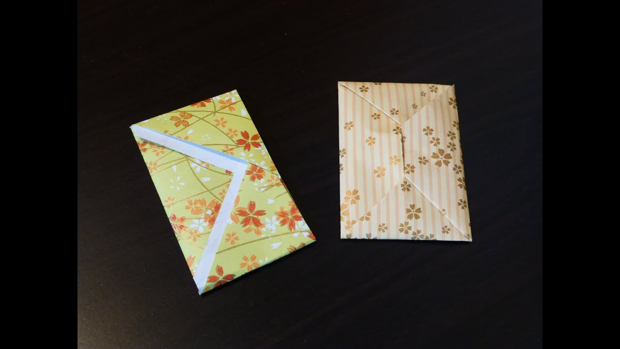 Très Comment faire Petit enveloppe. Origami. L'art du pliage de papier  PU67