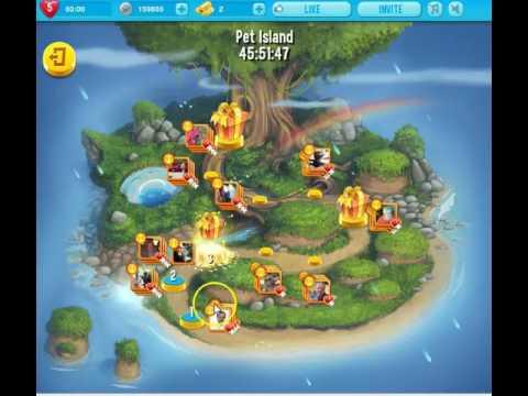 Pet rescue saga island level 1 4 26th 28th november for Pet island level 4