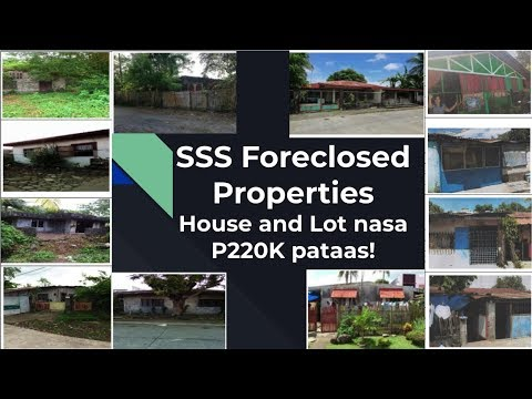 List Of Sss Foreclosed House And Lot For Sale Starting
