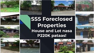List Of Sss Foreclosed House And Lot For Sale Starting From P220k