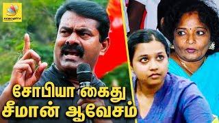 Seeman Furious Speech against BJP Tamilisai | Sophia