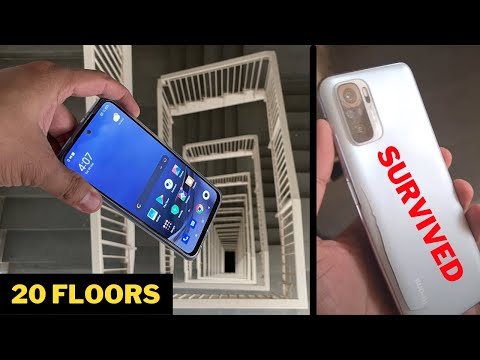 Dropping an Redmi Note 10 - 300 Feet | 14 HRS Freeze Test | Scratch Test - Extreme Torture Test