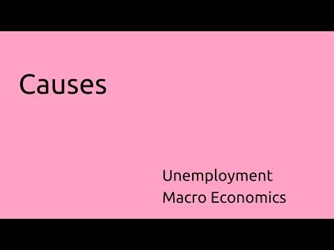 Causes of Unemployment | Unemployment | CA CPT | CS & CMA Foundation | Class 11 | Class 12