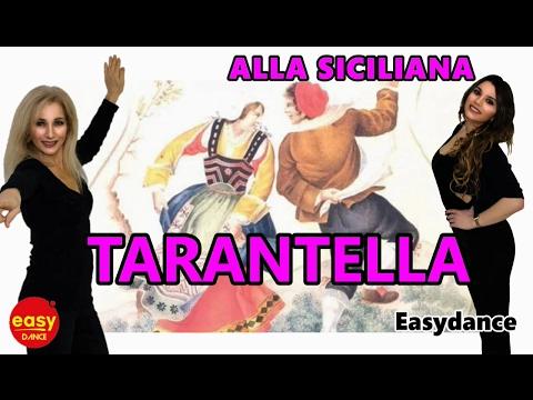 ALLA SICILIANA- Tarantella.Impara i passi,Ballo di Gruppo, Easydance Celleno