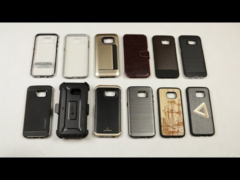 Top 10 Galaxy S7/S7 Edge Case Review and Giveaway!