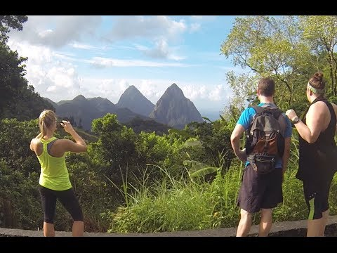 St. Lucia Caribbean Vacation - Hiking the Pitons