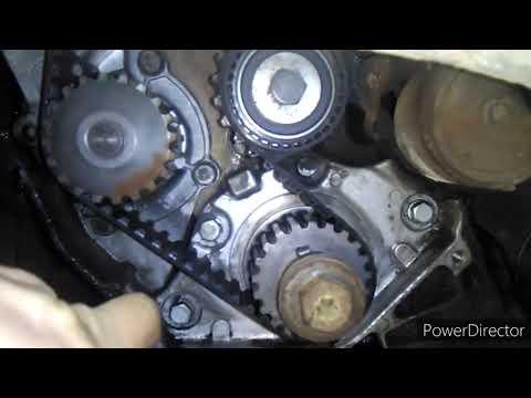Пежо 406 2.0 hdi. Peugeot замена ремня ГРМ и помпы
