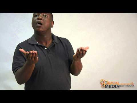 Sign Language and Media Botswana