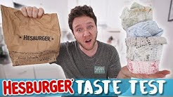 HESBURGER TASTE TEST
