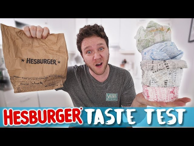 HESBURGER TASTE TEST