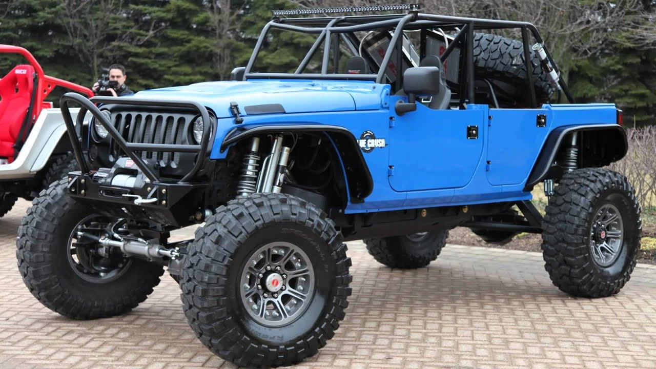 2011 Mopar Jeep Wrangler Blue Crush Youtube