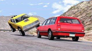 Slow Motion Crashes #6 - BeamNG Drive