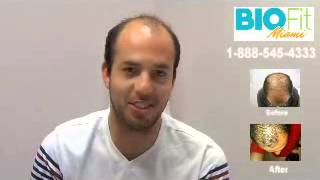 Stem Cell Therapy Testimonial - Hair loss treatment 1-888-545-4333