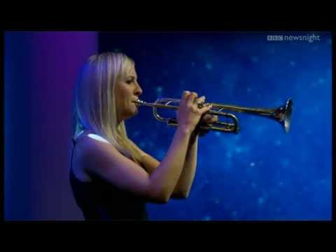 Newsnight Proms preview:  Alison Balsom and Tom Poster