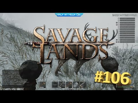 Savage Lands #106 - 0.8.3.78 - Making Bags - Mining Tin - Hunting Deer