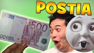 500 EURON SETELI POSTISSA   Avataan Pakeetteja 8