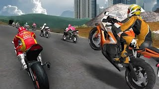 MOTORBIKE HIGHWAY RACING 3D GAME #Android GamePlay FHD #Bike Racing Games For Android #Racing Games