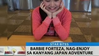 BT: Barbie Forteza, nag-enjoy sa kanyang Japan adventure