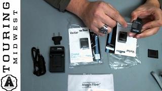 vivitar battery bundle for gopro