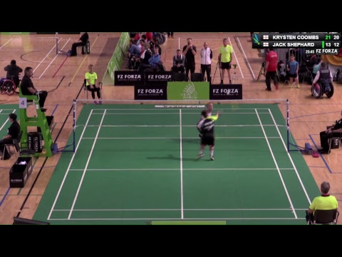 FZ Forza Irish Para-Badminton Intl. 2017 - Court 4 - Final -