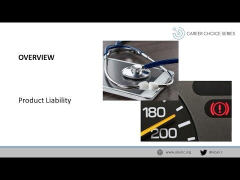 Career Choice Series: Product Liability Defense