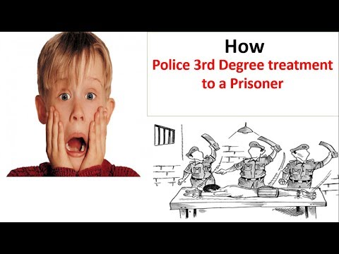Police 3rd Degree treatment to Prisoner |third degree tortur
