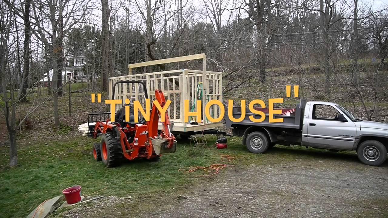 My Tiny House Start To Finish Youtube