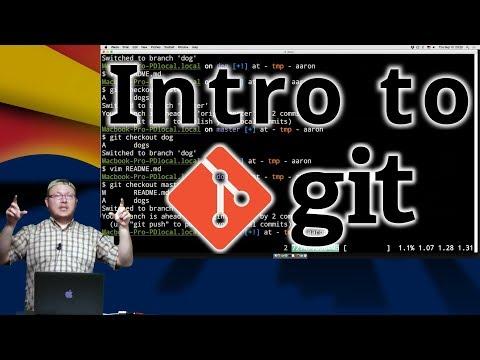 Aaron Jones: Intro to git