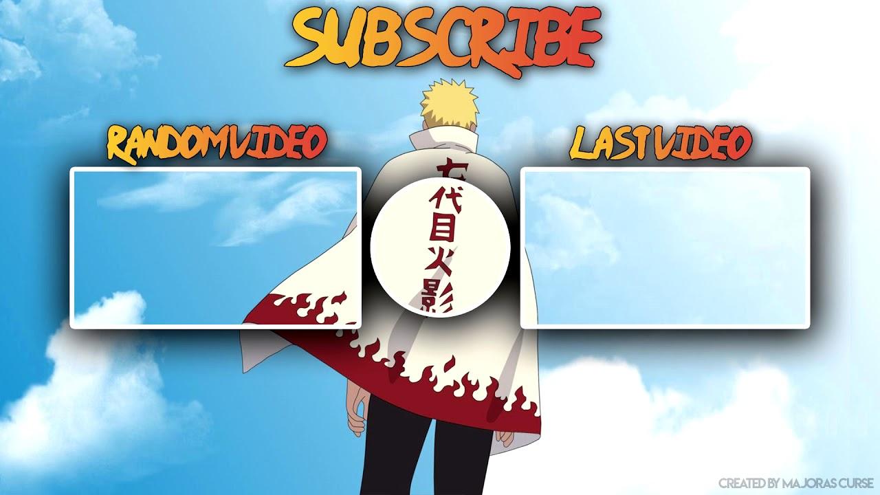 Naruto 2d Outro Template 2 Psd Free