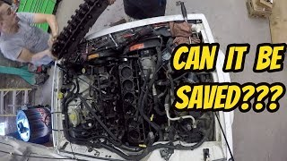 Looking Inside the Engine of my Jeep Cherokee with 360,000 Miles
