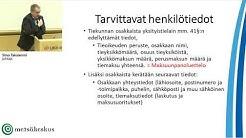 Tiekunnan Y-tunnus ja tietosuoja, Y-tunnuksen hakeminen tiekunnalle, tiekunta ja tietosuoja