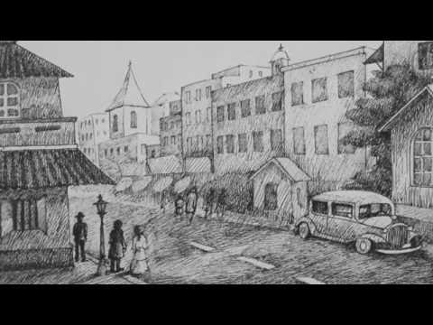 Pen & Ink Drawing Tutorial | How to Draw an Old City Landscape