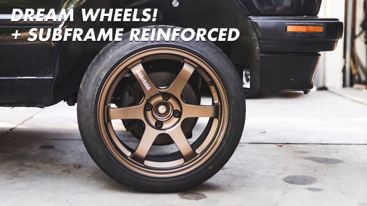 E30 V8 Build - I bought my DREAM wheels! + Subframe Reinforced