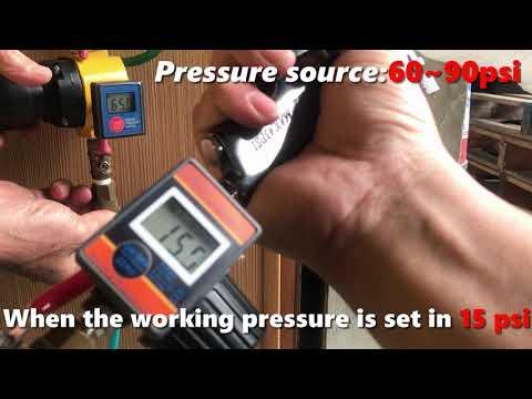 LEMATEC Digital Air Pressure Gauge For Spray Gun Air Tools, DAR02B