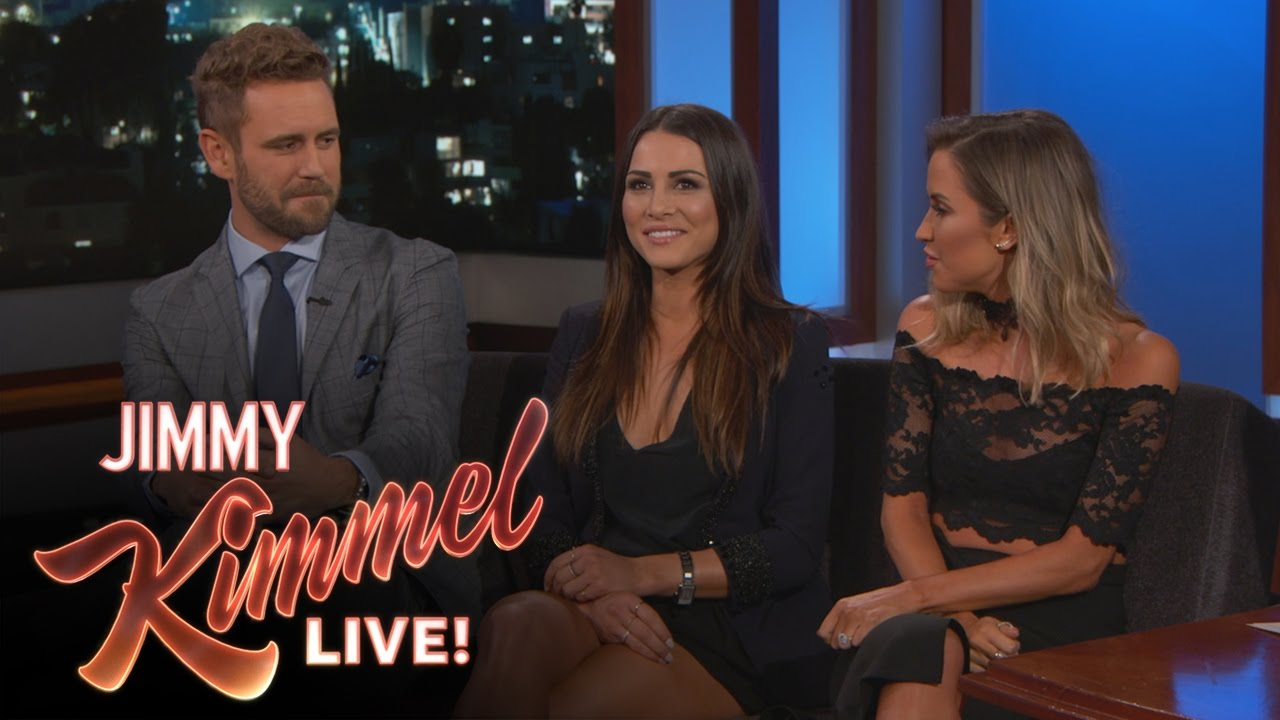 The Bachelor Nick Viall Awkwardly Reunites With Ex Girlfriends Andi Dorfman And Kaitlyn Bristowe