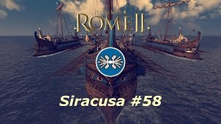Rome II | Total War | 58 | Siracusa | Odio a los arqueros a caballo