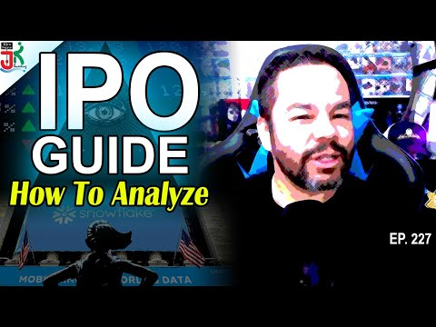 IPO Analysis (IPO Guide - What to Look For) | RSI Ep. 227