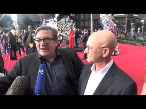 Transformers Ära des Untergangs Europa-Premiere Berlin Lorenzo Di Bonaventura & Ian Bryce