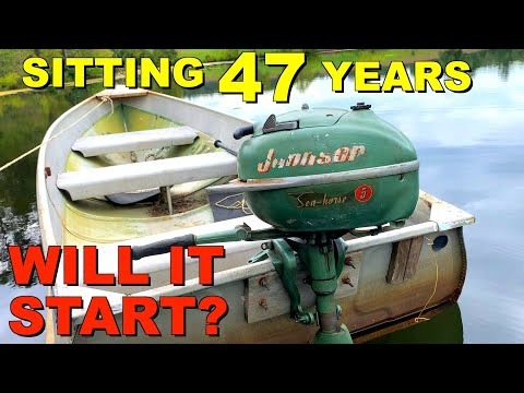 You Won't Believe What I Found Inside This Antique Boat Moto