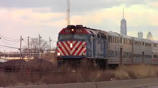 Nice P5 on Metra 155 West Chicago, IL 4/4/18