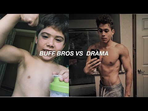 Little Brother Achieves His FIT Body | CG & NIKKI DRAMA