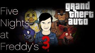 Пять ночей с Фредди 3 в ГТА / Обзор мода GTA San Andreas: FIVE NIGHTS AT FREDDY'S 3