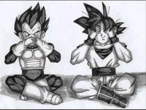 Goku x Vegeta - Bad romance (YAOI)
