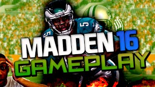 DONOVAN MCNABB VS CUNNINGHAM! LEGENDARY EAGLES SHOWDOWN  | MADDEN 16 DRAFT CHAMPIONS
