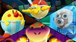 Poochy & Yoshi's Woolly World - All Boss Battles